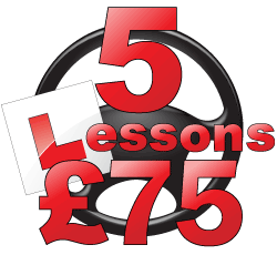 First 5 lessons for £75